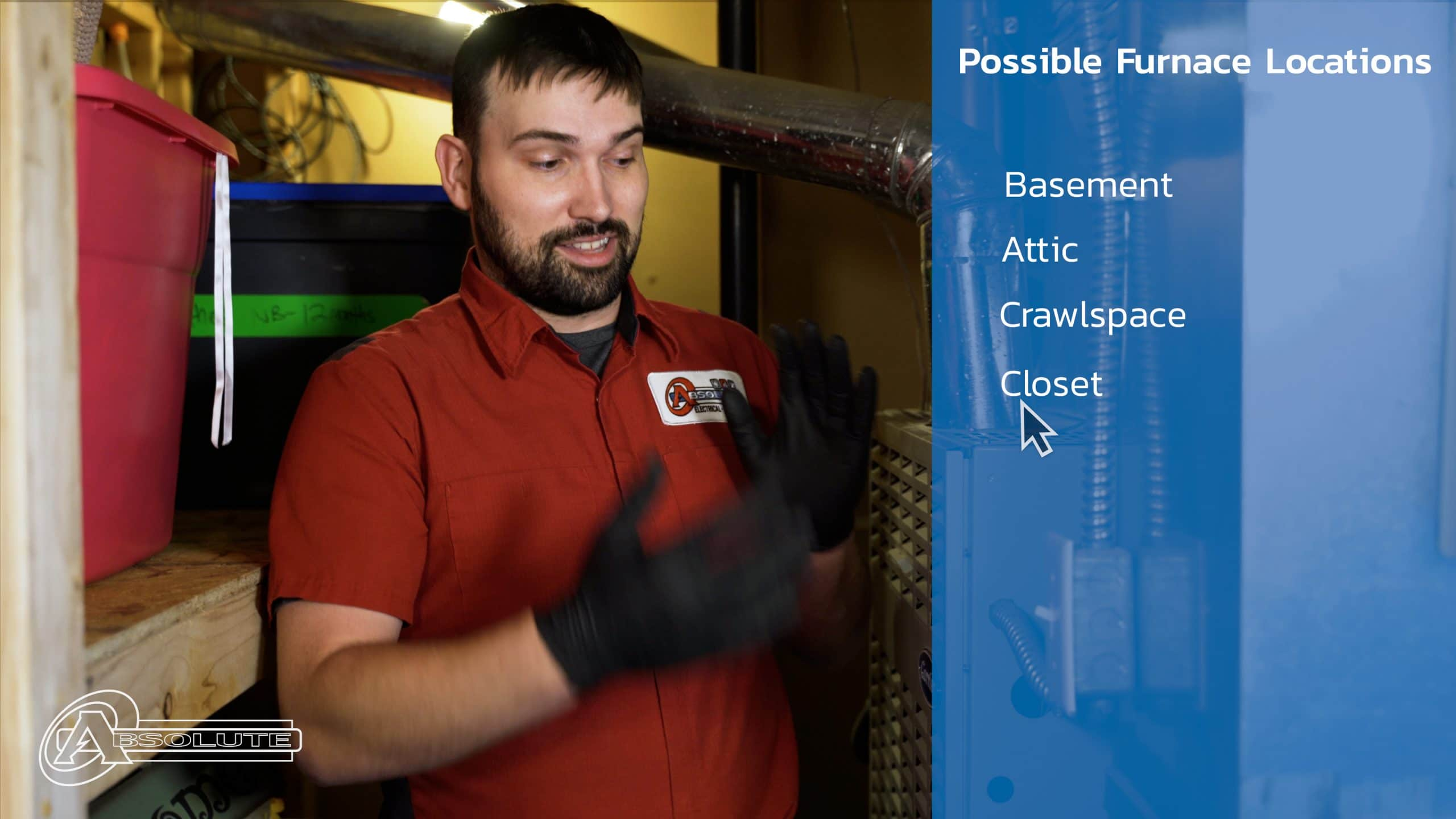 Possible Furnace Locations In Your Home - Change Your HVAC Air Filter
